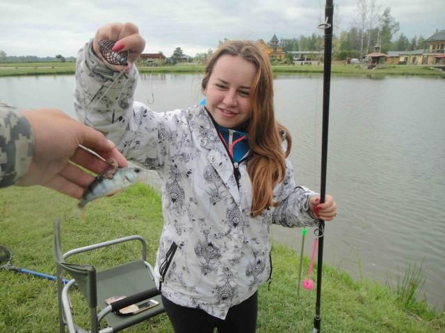 рыбалка для сестры