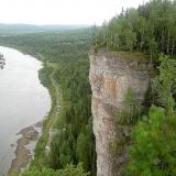 Урал. Река Чусовая. Дальше впадает в Каму