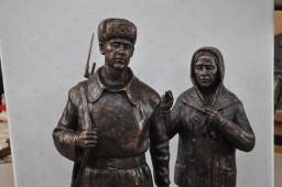 Проект будущего памятника воину-освободителю Волоколамской земли
