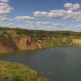 """Панорама """"Дальнего"""" озера. Находится вблизи пос. Сычёво."""