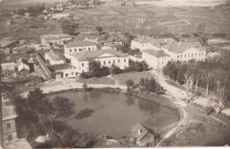 Вид с колокольни Воскресенского собора в сторону Пушкарей